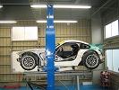 BMW Z4 Mクーペ(レース車両) フレーム計測