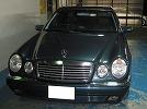 ベンツ E240(Eクラス) 鈑金(板金) 塗装 修理